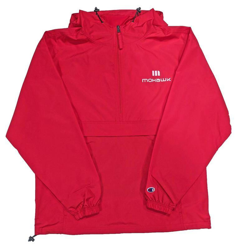 88880062752 Adult Anorak Jacket Red