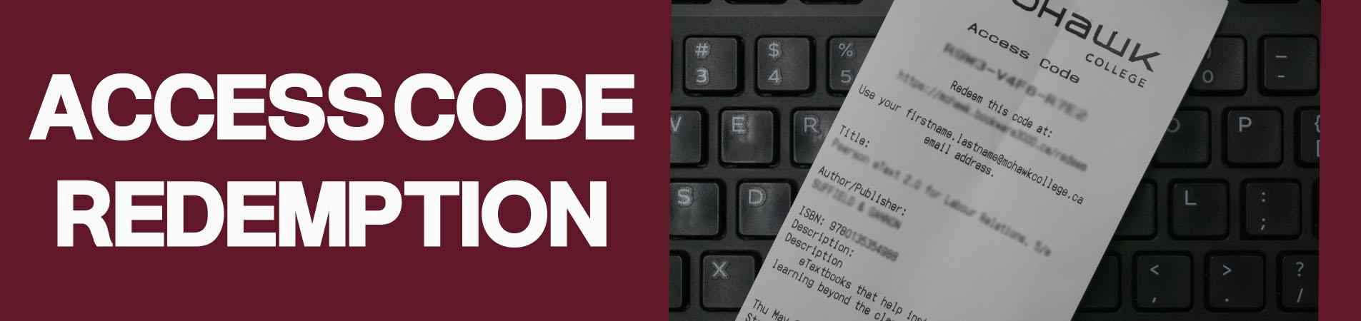 Access Code Redemption